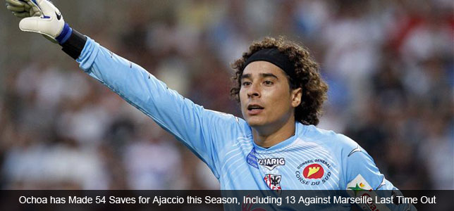 Player Focus: Guillermo Ochoa