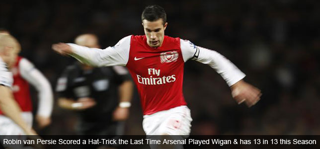 Wigan vs Arsenal No Foregone Conclusion - Gameweek 14 Trends