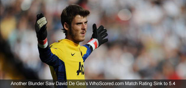 De Gea's Blushes Saved by Late Baggies Own Goal