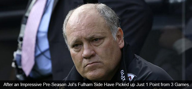 Jol Can't Win at Fulham: Damned if he Does & Damned if he Doesn't