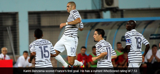 Albania 1-2 France: Yann M'Winna