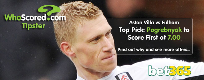 WhoScored Tipster: Pogrebnyak Leads List of Best Bets