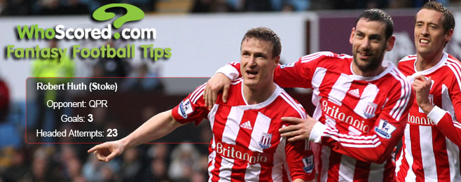 WhoScored Fantasy Football Tips - Huth, Song & Jelavic