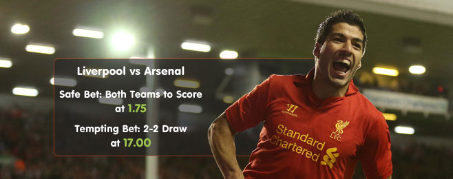 Betting Preview: Liverpool vs Arsenal