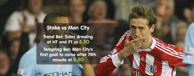 Betting Preview: Stoke vs Man City