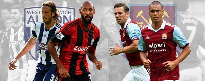 Team Focus: Premier League Preview Part 10 - West Brom and West Ham