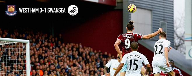 Match Report: Soaring Carroll Rises to Sink Underperforming Swans