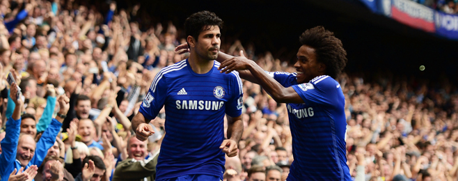 Match Report: Integration of the Lone Striker Sets Chelsea and Villa Apart