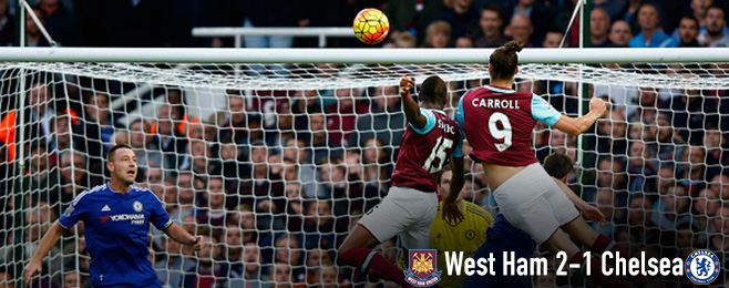 Match Report: West Ham Iron Out Home Form Against 10 Man Chelsea