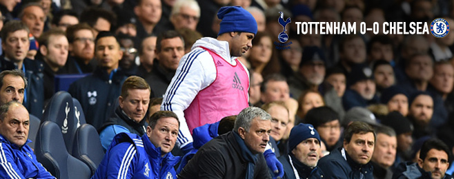 Match Report: Spurs and Chelsea Divide the Points as Costa Watches On