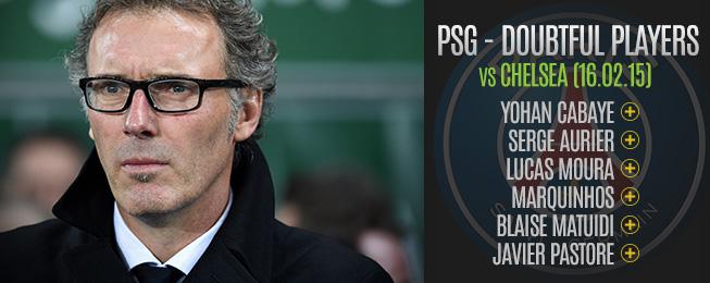 Team Focus: Paris Saint-Germain Hit Problems Ahead of Chelsea Clash