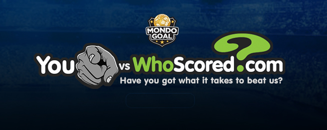 You vs WhoScored: WhoScored Expert MondoGoal XI - Gameweek 32
