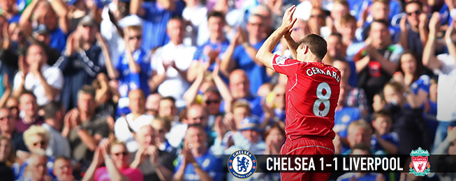 Match Report: Gerrard Ovation the Highlight in Predictable Battle at the Bridge