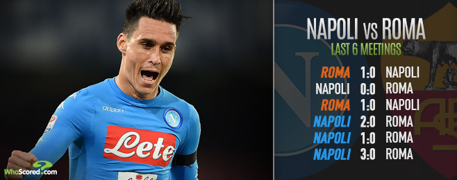 Napoli vs Roma: Preview and tips from the Derby del Sole