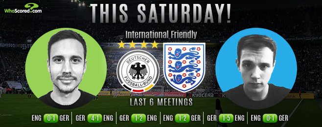 Why There Will be Goals at Both Ends When England Meet Germany