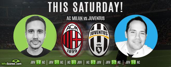 Juve Title Tilt to Continue Against Mediocre Milan
