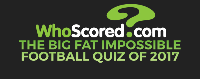 The Big Fat Impossible Football Quiz Of 2017