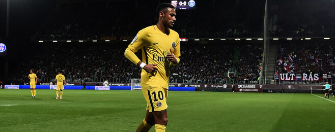 Neymar sets the standard in the September Ligue 1 best XI