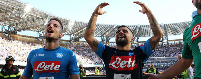 Distinct Napoli feel to our Serie A team of the month