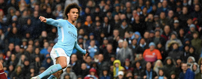 Sane the star man in Premier League team of the month