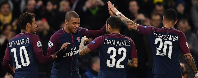 Record breaking Paris Saint-Germain dominate Champions League group stage best XI