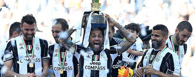 European Team of the Season: DR - Dani Alves (Juventus)