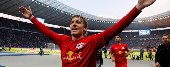 European Team of the Season: AMC - Emil Forsberg (RB Leipzig)