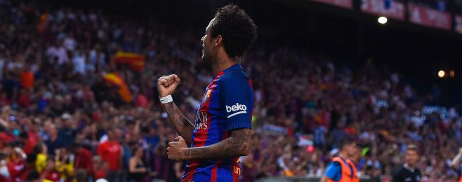 European Team of the Season: FWL - Neymar (Barcelona)