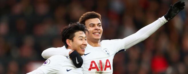Form Guide: Tottenham climb into the top 10 teams in Europe