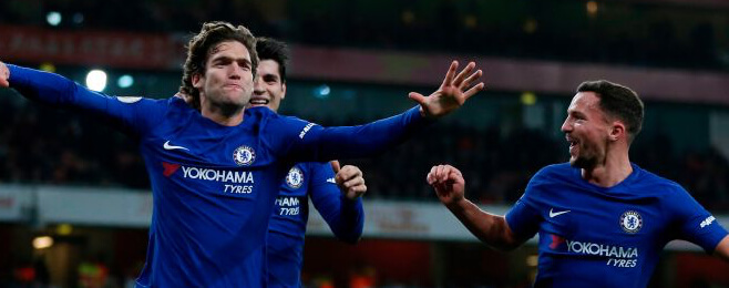 Yahoo! Fantasy Football: Chelsea duo make best scoring XI