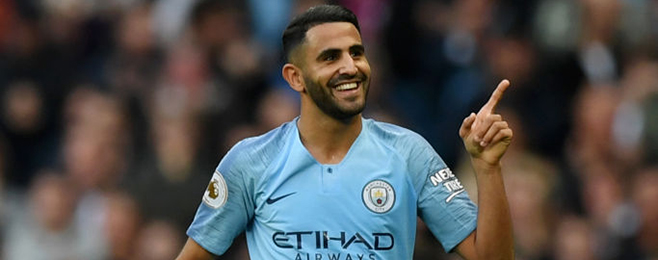 Mahrez and Martial shine among Saturday's star man displays in the Premier League