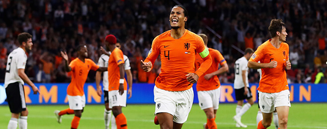 Netherlands dominate UEFA Nations League best rated XI