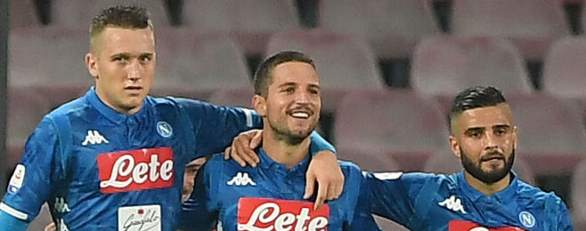 Napoli front pair lead the way in Serie A best XI