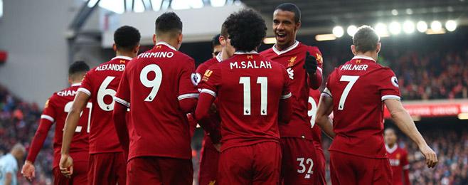 Liverpool leap into top ten teams in European form rankings