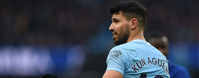Form Guide: Aguero takes third spot off Messi in European form rankings