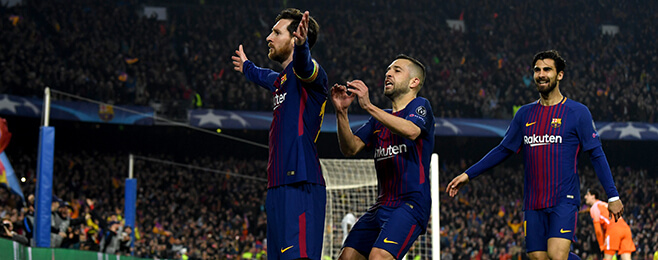 Champions League Team of the Round: Messi and Ronaldo still top