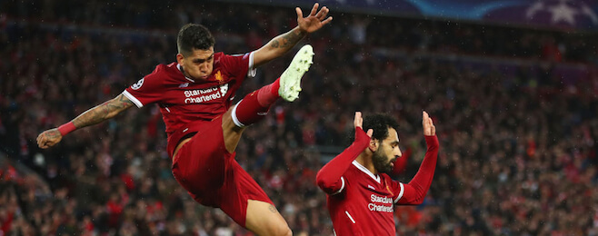 Perfect Liverpool pair make Champions League best XI