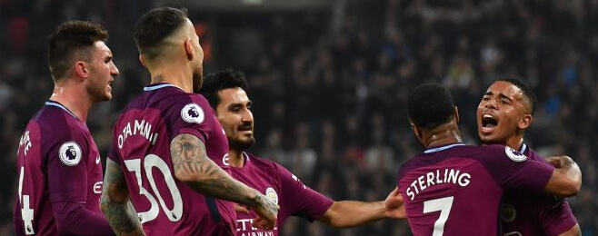 Manchester City end poor week on a high at Tottenham's expense
