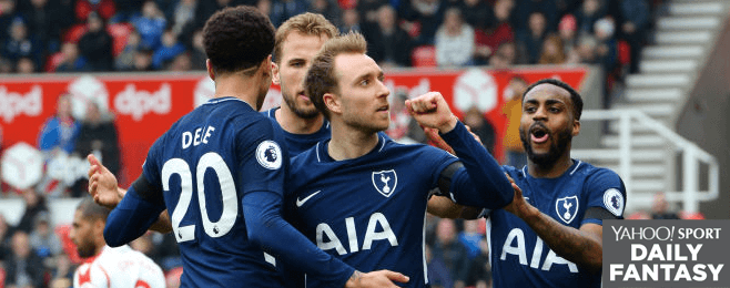 Tottenham star leads the way in top performing Yahoo! XI