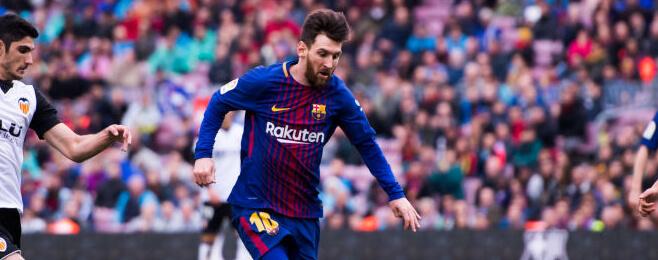 European Team of the Season: ST – Lionel Messi (Barcelona)