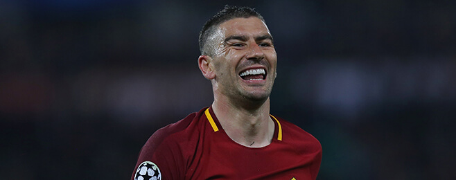 European Team of the Season: LB – Aleksandar Kolarov (Roma)