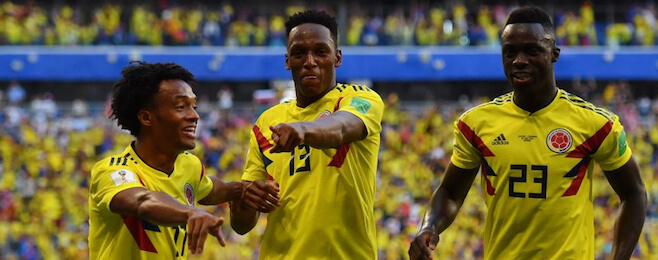 Group H round-up: Group topping Colombia dominate player rankings