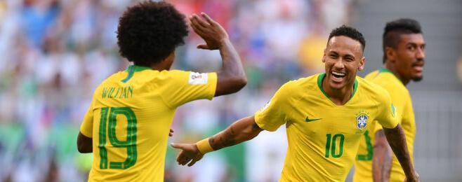 Player Ratings: Brazil 2-0 Mexico - Premier League midfielder the star man