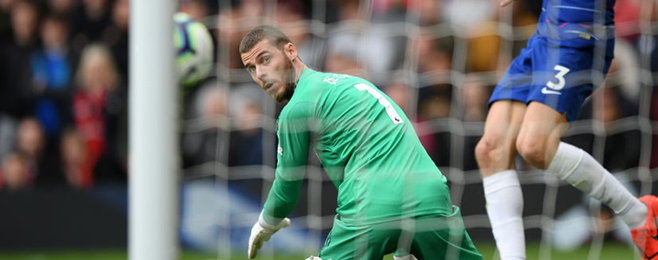 caf35050450 Manchester United 1-1 Chelsea player ratings  De Gea disaster hands Chelsea  point
