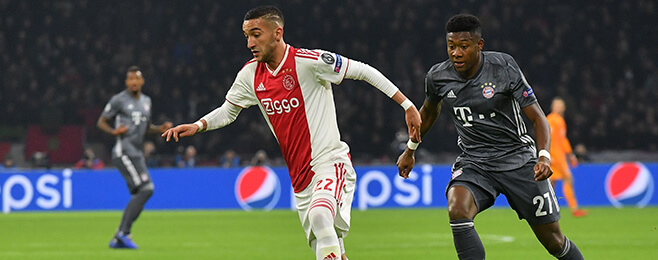 Borussia Dortmund plot audacious move for Ajax star Ziyech