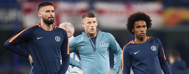 Two Chelsea stars named in Europa League team of the round