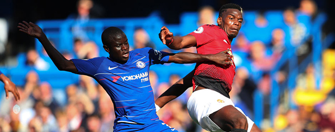 Kante vs Pogba among weekend's top head-to-head battles in Europe