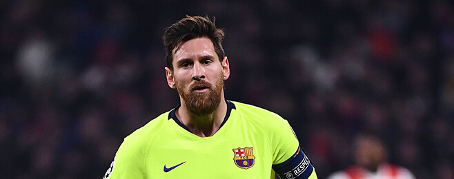 Champions League round-up: Messi pipped to top spot in weekly ratings