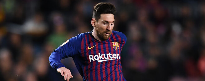 Messi gears up for crunch Champions League clash in style
