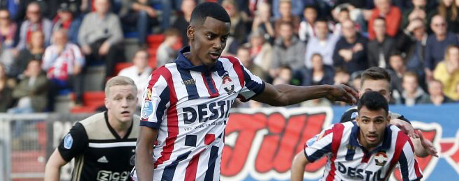 Alexander Isak - The teenage hotshot firing on all cylinders with Willem II